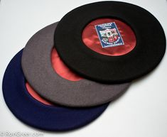 f5302baeb9849 Berets from the Basque region of Spain. Imported by Ron Greer  Simply the  Best Beret you can buy!