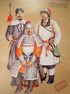 Jurchen or Jin Dynasty Warriors (founded by Manchu) (1125 CE - 1234 CE) - After a series of raids conducted all along Liao's western frontiers, Aguda went on to a general attack, taking Liao subordinate capitals one by one, sometimes with help of native Chinese dynasty occupying the rest of China, Northern Song (960–1126). Aguda died before completing his conquest of Liao, but his successor Wuqimai, or Taizong (1075–1135), not only completed his task, but even began a massive invasion of…