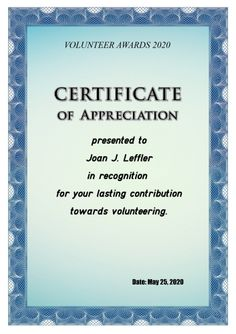 Thanks for volunteering volunteer thank you certificate thank appreciation certificate template how to print an appreciation certificate yadclub Choice Image