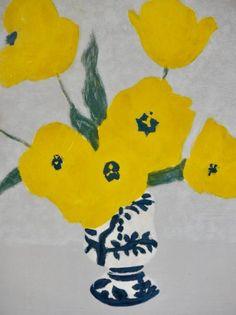 Simple Flower Drawing, Pastel Drawing, Painting Still Life, Art For Art Sake, Watercolor Techniques, Henri Matisse, Art Plastique, Botanical Art, Figurative Art