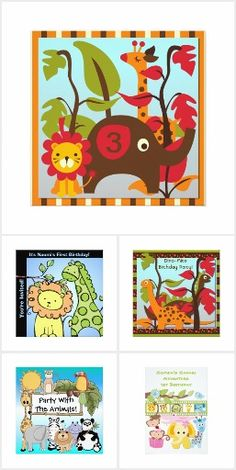 kids animal birthday invitations party with the animals with this collection of animal kids birthday party