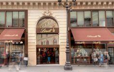 Boutique Lindt Paris Opéra