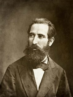 Marc Ferrez, important photographer for Rio during XIX and XX centuries By himself, aged 33, circa 1876