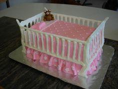 Baby crib cake tutorial