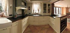 Luxusní rustikální kuchyně