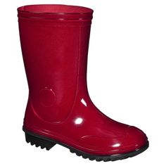 Youth Solid Rainboot - Red.Opens in a new window $24