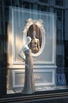 Christian Dior shopwindow