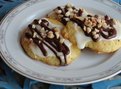 Ricotta Orange Cookies with Dark Chocolate & Hazelnuts: Photo - 3 | Just A Pinch Recipes