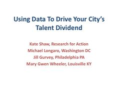 Talent dividend power point