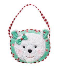 "Douglas Polar Bear Lil Sak6"" WideDouglas Item #:  1121"