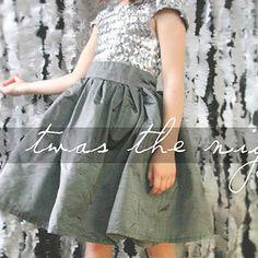 Free Girls Sz. 6-7 Dress Pattern - Burda