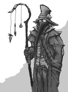 Plague Doctor by Solomon-Mordecai