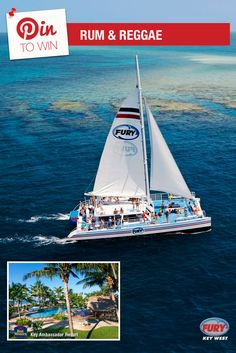 Repin this image and include the tag #FuryFreebie to win a Key West Vacation for 2! Your trip will include this Rum and Reggae trip plus 5 days/4 nights at the Key West Best Western Key Ambassador Resort. Make sure to repin by 09/30/2015 to be entered!