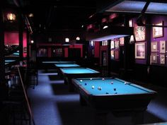 Billiards Hall Design | pool hall.jpg ~Yup, with a cold (bottled) brewski too! Burrp, FUN. :)