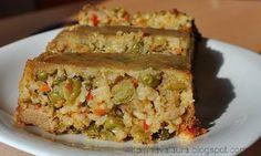 Vegetable Recipes, Vegetarian Recipes, Healthy Recipes, Healthy Food, Romanian Food, Tofu, Quiche, Recipies, Vegetables