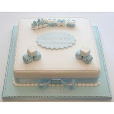 christening cakes boy - Google Search