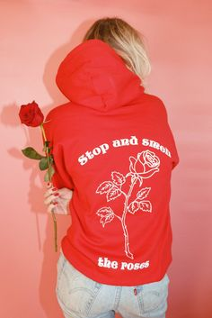 6c302c6d7a9c Stop and Smell the Roses Sweatshirt Available in sizes  S