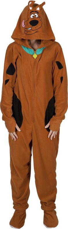 Scooby Doo Footie Pajamas