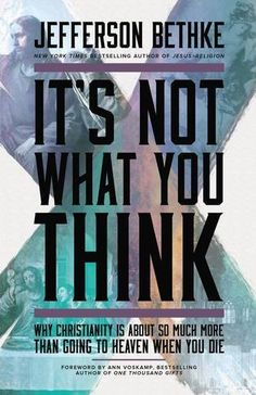 It's Not What You Think: Why Christianity Is About So Much More Than Going to Heaven When You Die by Jefferson Bethke http://www.amazon.com/dp/1400205417/ref=cm_sw_r_pi_dp_CWChwb1VRTM01
