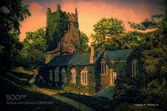 Church in Cockington England by charleswbaileyjr. @go4fotos