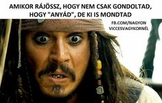 """I was watching Pirates of the Carribean on Pirate Bay of course. There is someone at the door saying """" FBI OPEN UP """". Jack Sparrow Funny, Actors Funny, Pirate Fashion, Wtf Face, 2 Movie, Crazy People, Pirates Of The Caribbean, Reaction Pictures, Jokes"""