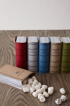 """Book Favor These candy-filled books make great favors or place settings—or both! Use a familiar title like Romeo + Juliet or customize with any title, real or made up, and add your own """"cover art"""" Library Themes, Book Themes, Book Club Parties, Book Themed Parties, Storybook Baby Shower, Wedding Book, Book Gifts, Birthday Party Themes, Book Worms"""