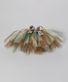 Take a look at this All the Little Things Brown Camo Tutu - Infant, Toddler & Girls on zulily today!
