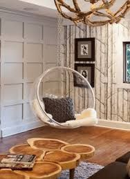 panelled wall