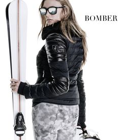 Japan modeshow i skidbacken
