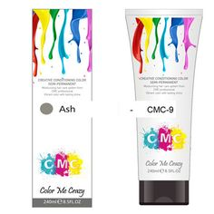 CMC SEMI-PERMANENT HAIR COLOUR – ASH (240ml) – Glitter Box Beauty