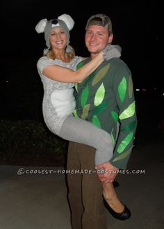 Original Couple Costume Idea: Koala Kouple! ...This website is the Pinterest of costumes