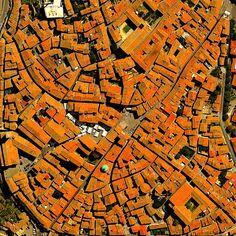 """eccellenze-italiane: """" Cortona, Province of Arezzo, Italy - #EarthOverhead """""""