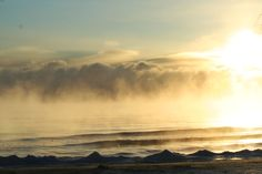 February morning Lake Huron Oscoda MI [OC] [3456 x 2304] 2/15/2016