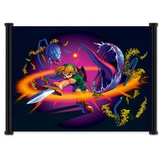 Legend of Zelda Ocarina of Time Game Fabric Wall Scroll Poster (21 x 16) Inches, http://www.amazon.ca/dp/B00FIJ5EU4/ref=cm_sw_r_pi_awdl_bTY4vbCC0YFBK