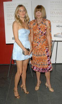 Στην πρεμιέρα της ταινίας-ντοκιμαντέρ The September issue (για το μεγαλύτερο τεύχος της Vogue που κυκλοφόρησε ποτέ), τον Αύγουστο του 2009