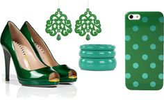 """green"" by naiaraparraferre on Polyvore"