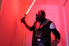 Battle damaged darth vader costume cosplay Star Wars