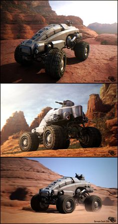 All Terrain Vehicle by Germain Couet