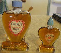 Blue Waltz Cologne & Perfume, circa 1950's