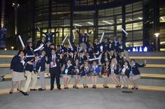 Puerto Rico Delegation at  National Leadership Conference  Anaheim, California 2013