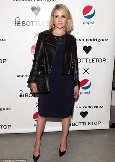 Dianna Agron Narciso Rodriguez for Pepsi Launch May 8 2014