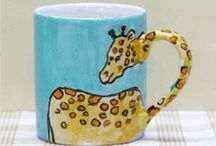 paint your own pottery mug - Google Search