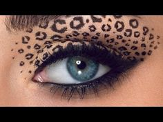 Leopard Eyes 2. Follow up to Jordan Liberty's infamous Leopard Eye video tutorial Makeup: Jordan Liberty Model: Brooke Quinn Give Good Face