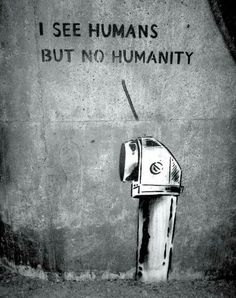 Klister Peter - I SEE HUMANS BUT NOT HUMANITY