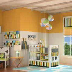 DKL Designs Beach Baby 10 Piece Crib Bedding Set