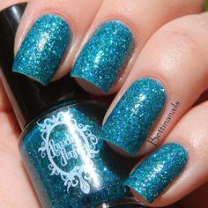 Bay of Alexandria - an aqua nail polish by Powder Perfect