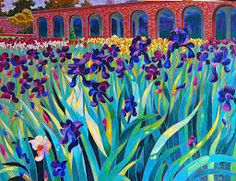 Dmytro Dobrovolsky is the artist. He paints in very bright colors and most of…