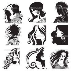 красивый профиль девушек - Поиск в Google