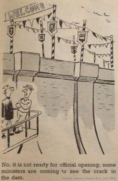 RK Laxman 1967 Cartoon