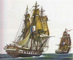 portuguese war ship